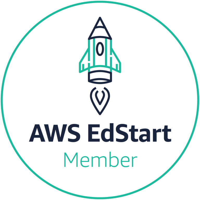 AWS Edstart badge